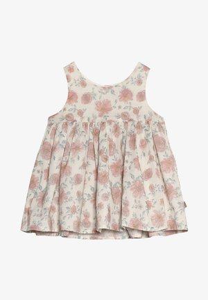 PINAFORE WRINKLES BABY - Košilové šaty - ivory