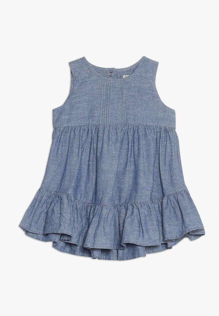 Wheat - DRESS SARI BABY - Shirt dress - bering sea