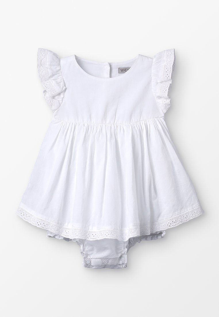 Wheat - DRESS SUIT HEDI BABY - Day dress - white