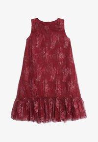 Wheat - Day dress - dark berry - 0