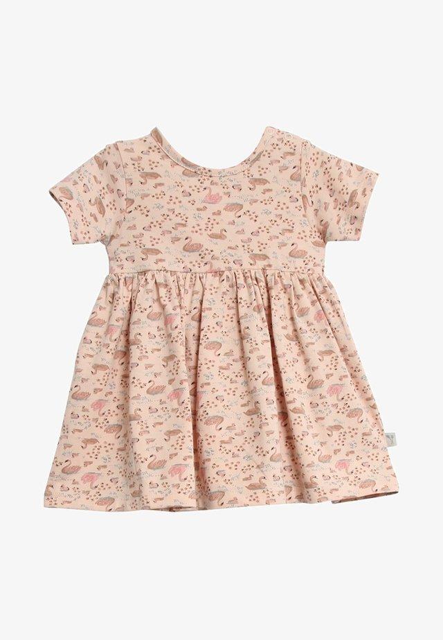 NOVA - Jersey dress - powder