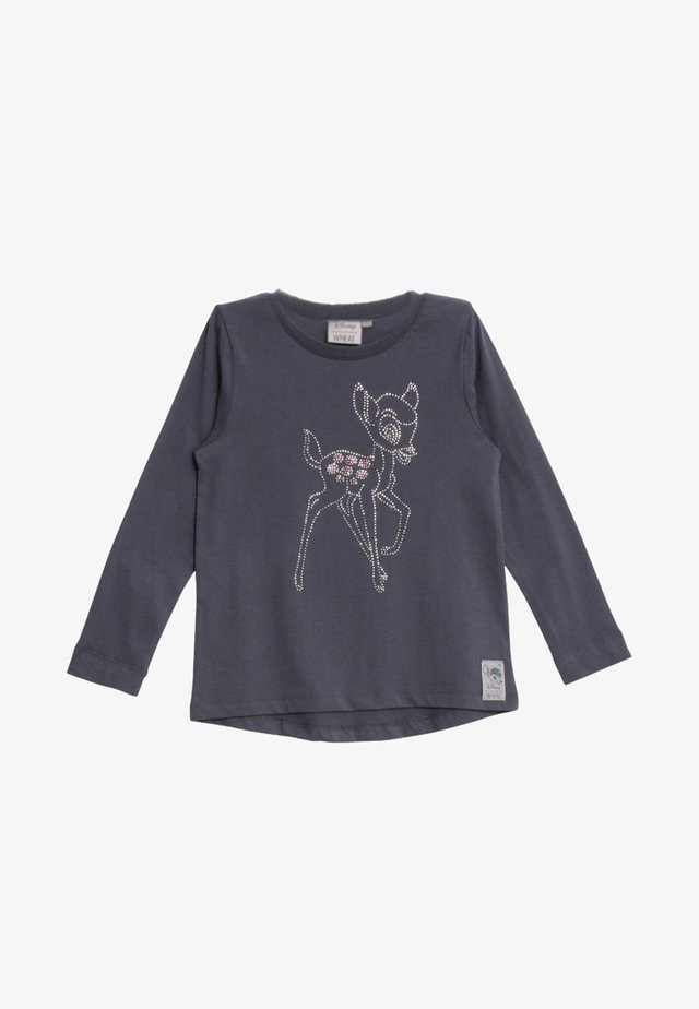 BAMBI  - Long sleeved top - grey/blue