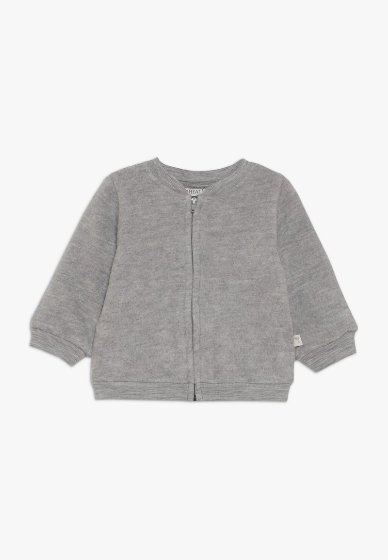 Wheat - CARDIGAN BABY - Cardigan - melange grey
