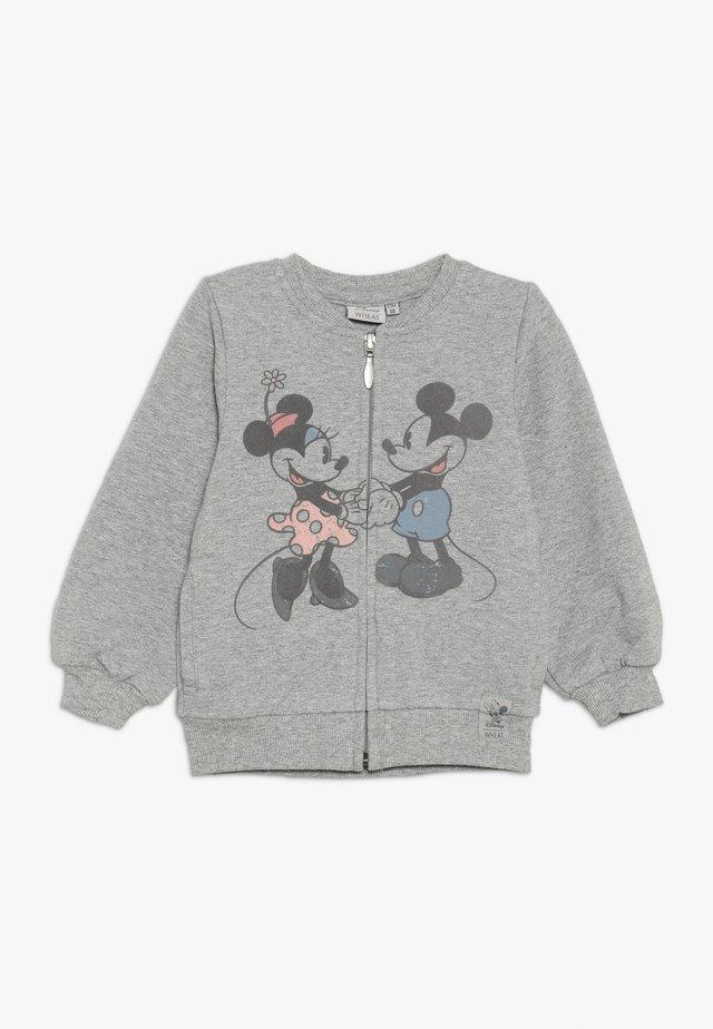 LOVE BABY - Mikina na zip - melange grey