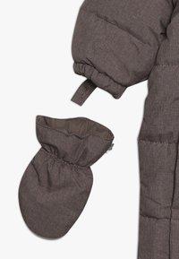 Wheat - BABY SUIT  - Mono para la nieve - plum melange - 3