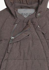 Wheat - BABY SUIT  - Mono para la nieve - plum melange - 5