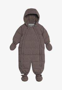 Wheat - BABY SUIT  - Mono para la nieve - plum melange - 4