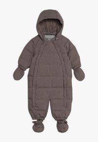 Wheat - BABY SUIT  - Mono para la nieve - plum melange - 0