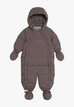 BABY SUIT  - Mono para la nieve - plum melange