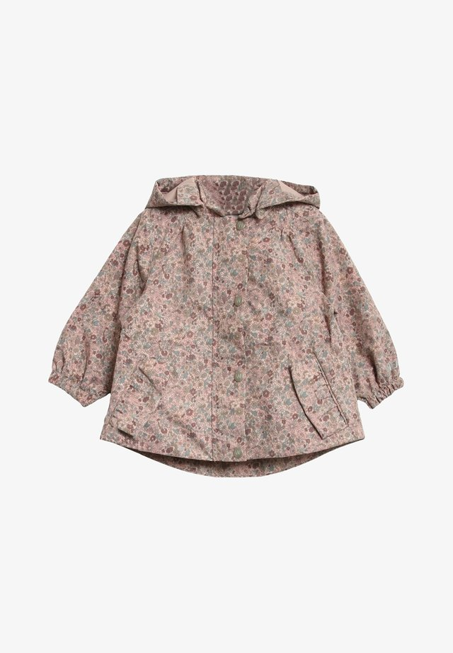 Outdoor jacket - rose flowers