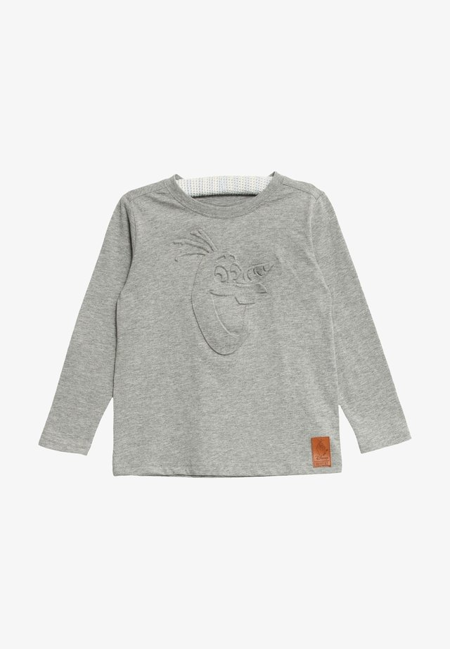 Long sleeved top - melange grey