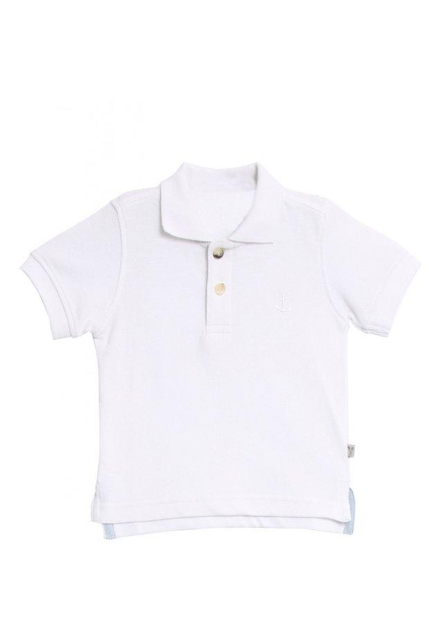 ANCHOR - Polo shirt - white