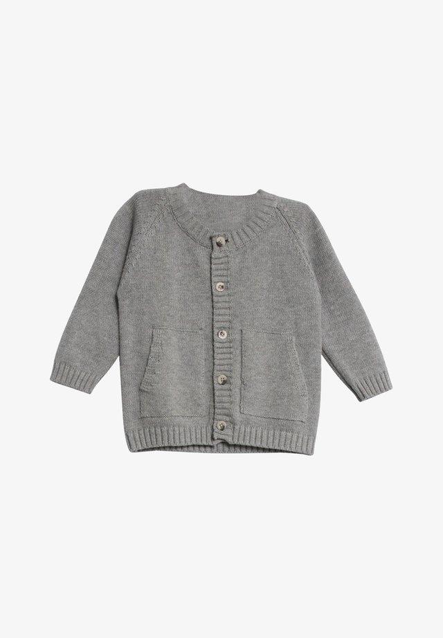 Cardigan - melange grey