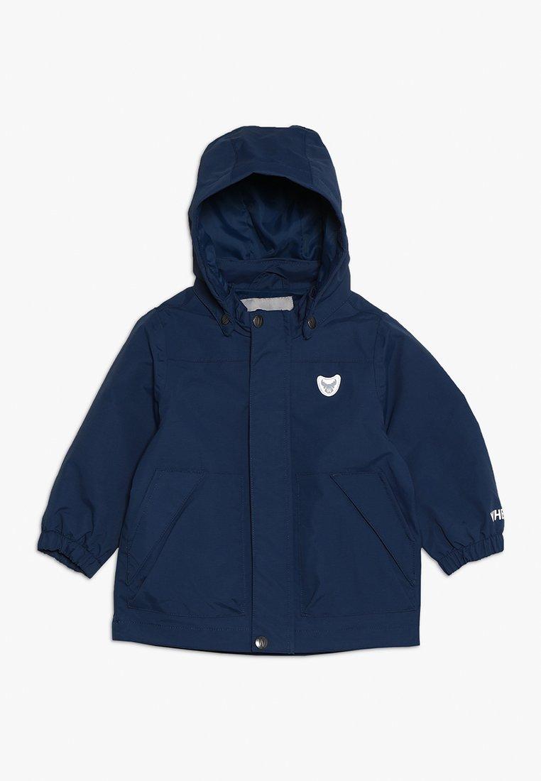 Wheat - JACKET TOM BABY - Waterproof jacket - indigo