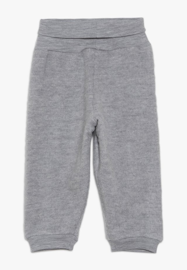 FELTED TROUSERS BABY - Tygbyxor - melange grey