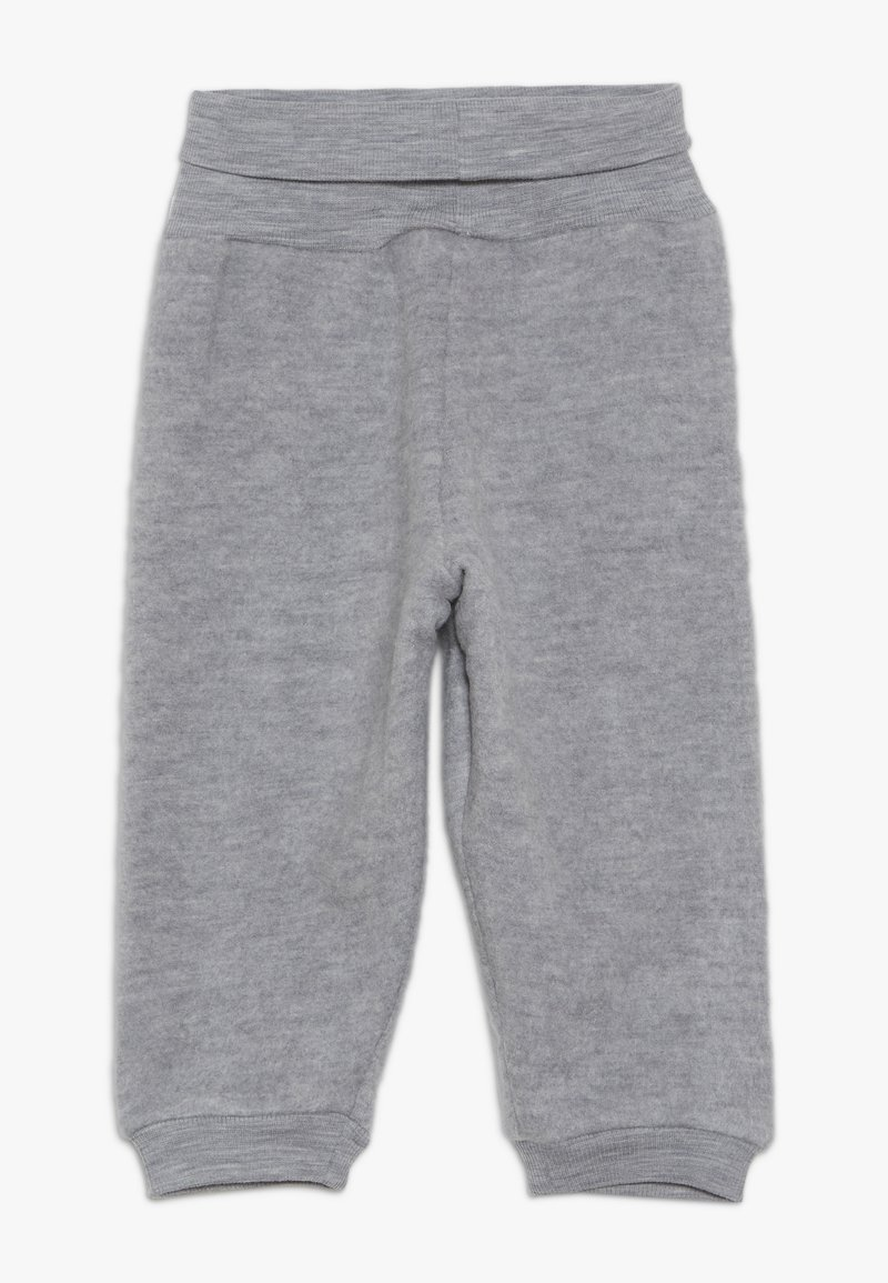 Wheat - FELTED TROUSERS BABY - Kangashousut - melange grey