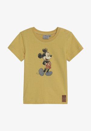 MICKEY RETRO BABY - T-shirt imprimé - dark straw