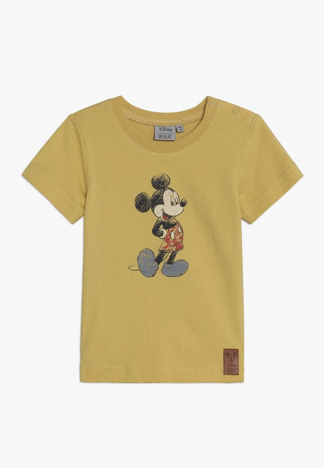 MICKEY RETRO BABY - T-Shirt print - dark straw
