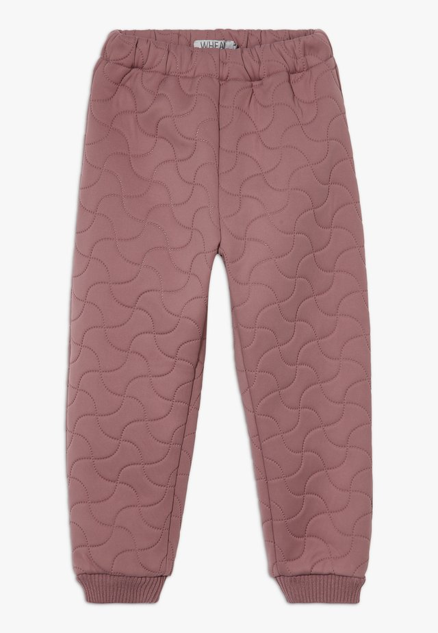 THERMO ALEX - Trousers - plum