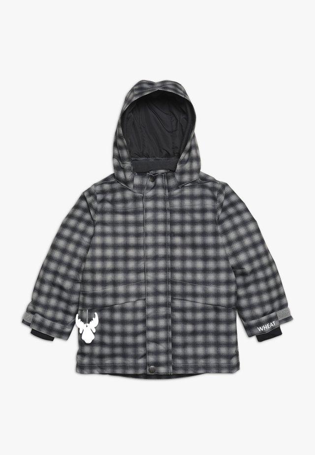 JACKET SHANE - Outdoorjacke - black/grey