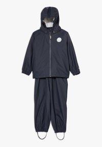 Wheat - RAINWEAR CHARLIE SET - Waterproof jacket - ink - 0