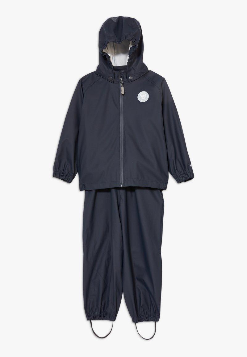 Wheat - RAINWEAR CHARLIE SET - Waterproof jacket - ink