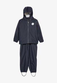 Wheat - RAINWEAR CHARLIE SET - Waterproof jacket - ink - 6