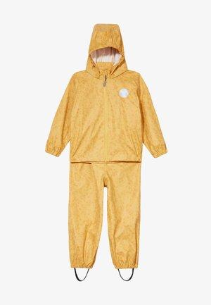 RAINWEAR CHARLIE SET - Waterproof jacket - yellow