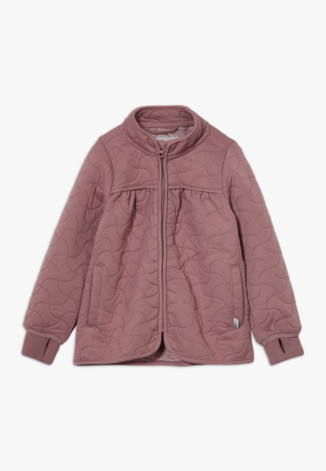 THERMO THILDE - Outdoor jacket - plum