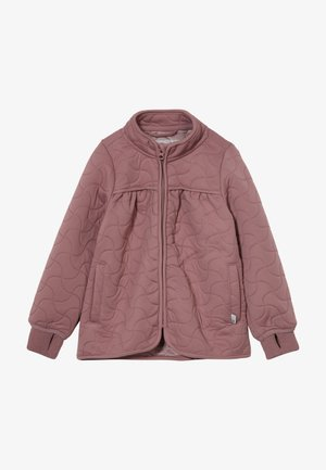 THERMO THILDE - Kurtka Outdoor - plum