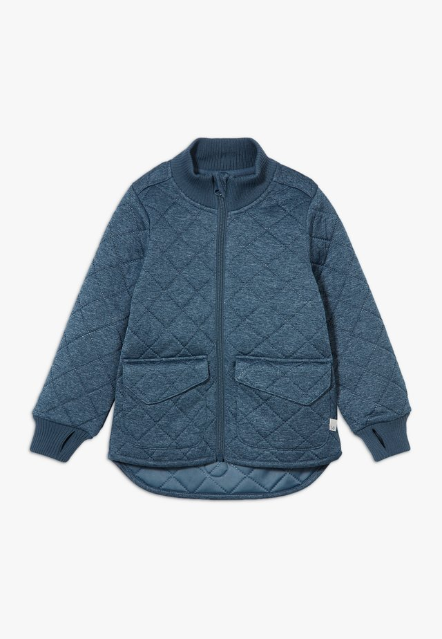 THERMO DINES - Fleece jacket - indigo melange
