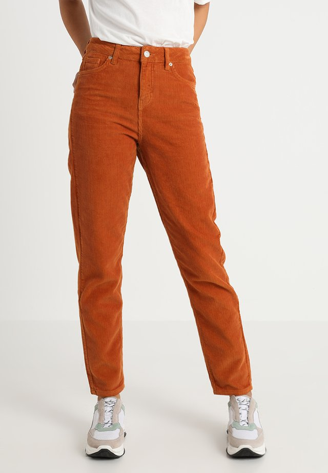 DANA - Stoffhose - orange