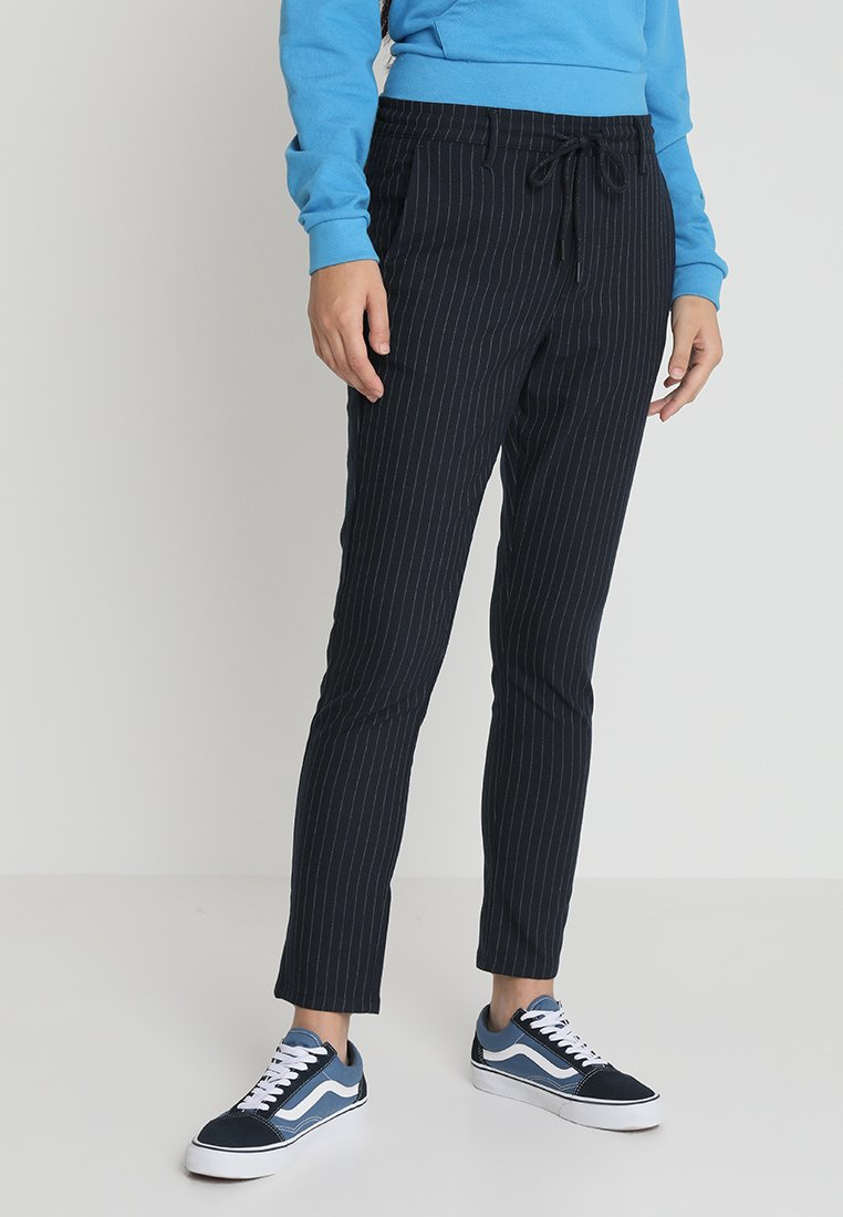 WHY7 - FAME  PANTS - Spodnie materiałowe - marine