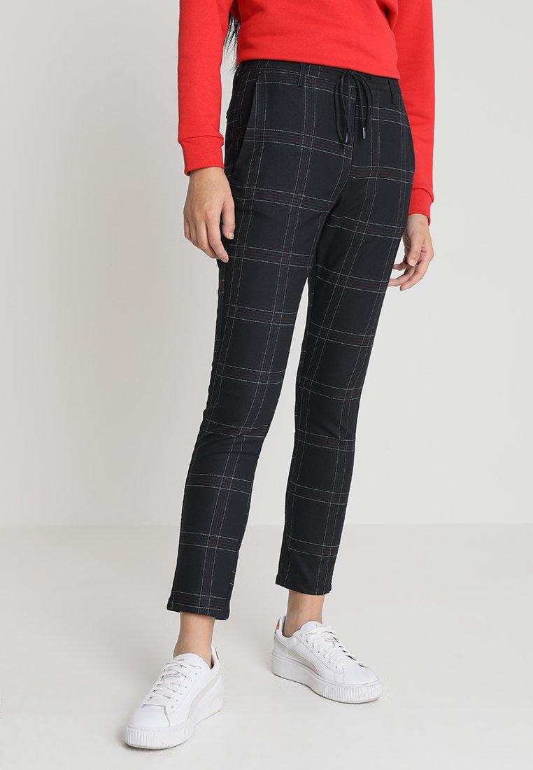 WHY7 - FAME  PANTS - Spodnie materiałowe - marine square