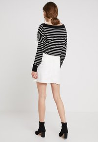 WHY7 - EMMA RAW SKIRT - A-snit nederdel/ A-formede nederdele - white - 2