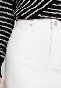 WHY7 - EMMA RAW SKIRT - A-snit nederdel/ A-formede nederdele - white - 4