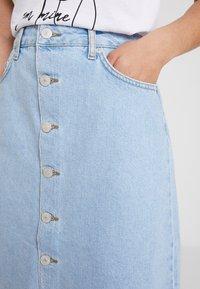 WHY7 - DANI SKIRT - A-line skirt - bright blue - 4