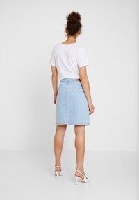 WHY7 - DANI SKIRT - A-line skirt - bright blue - 2