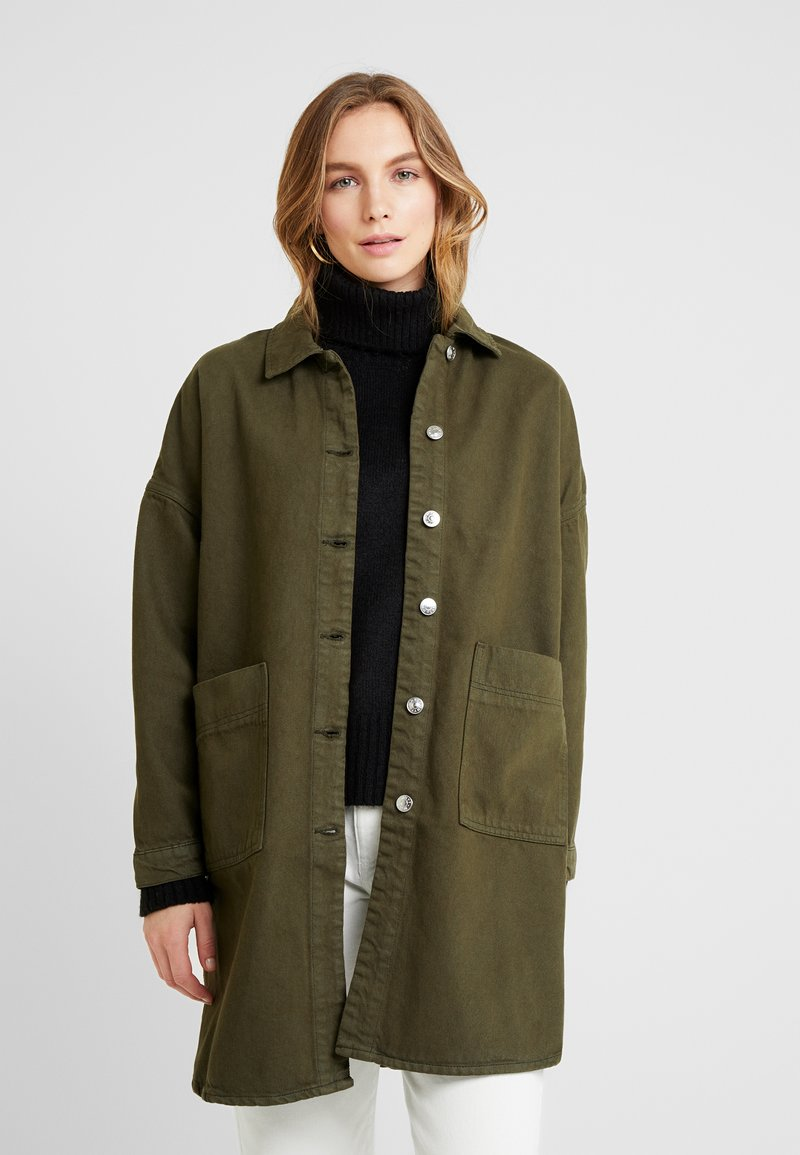 WHY7 - SOHO JACKET - Kurzmantel - army