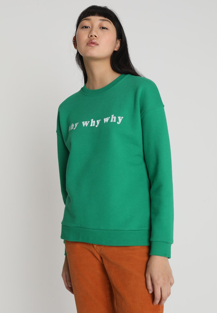 WHY7 - WEET SWEET - Sweatshirts - golf green