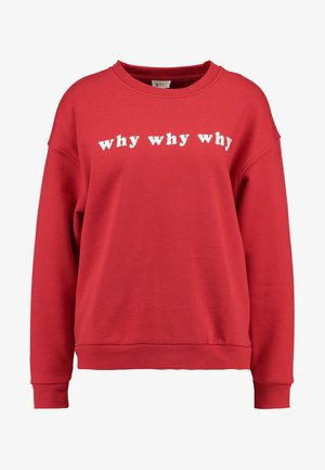 WEET SWEET - Sweatshirt - red tango