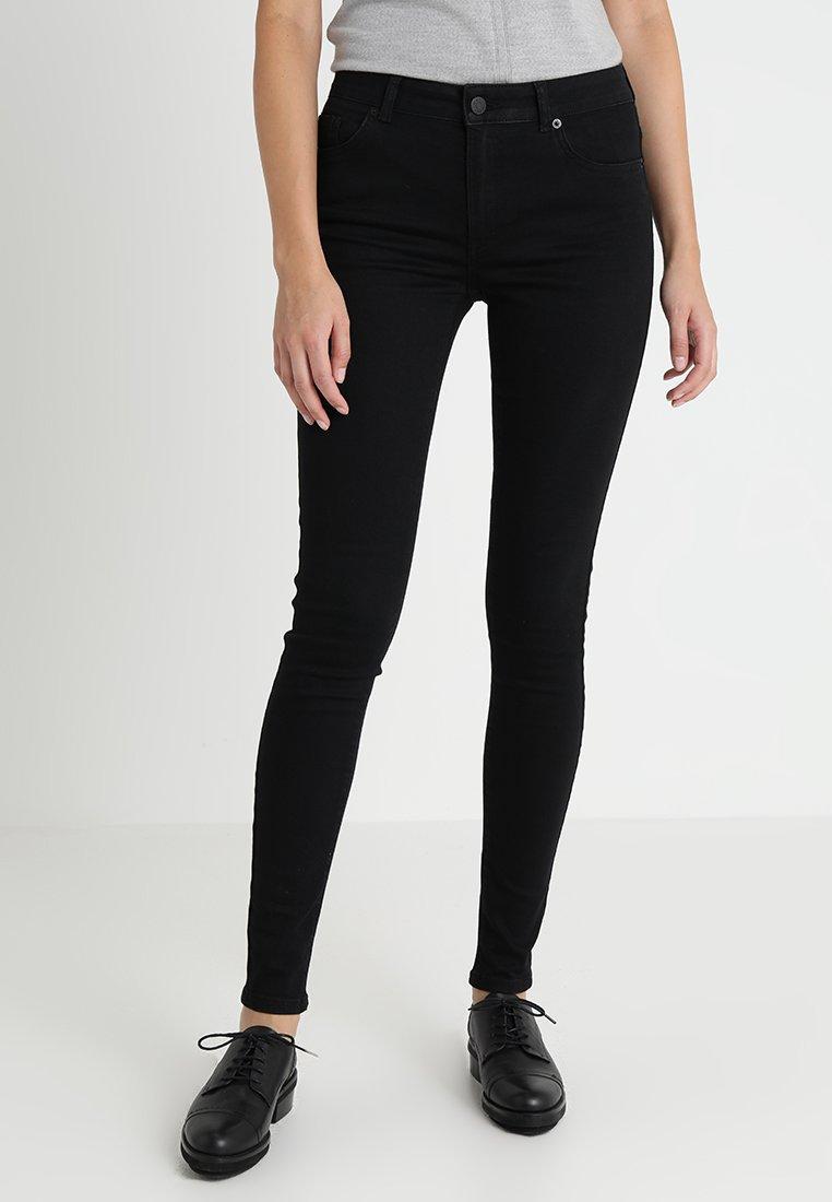 WHY7 - ULTRA SUPER SKINNY  - Jeans Skinny Fit - black