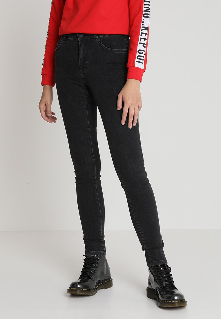 WHY7 - KATE - Jeans Skinny Fit - black grey
