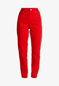 WHY7 - DANA MOM - Relaxed fit jeans - red - 3