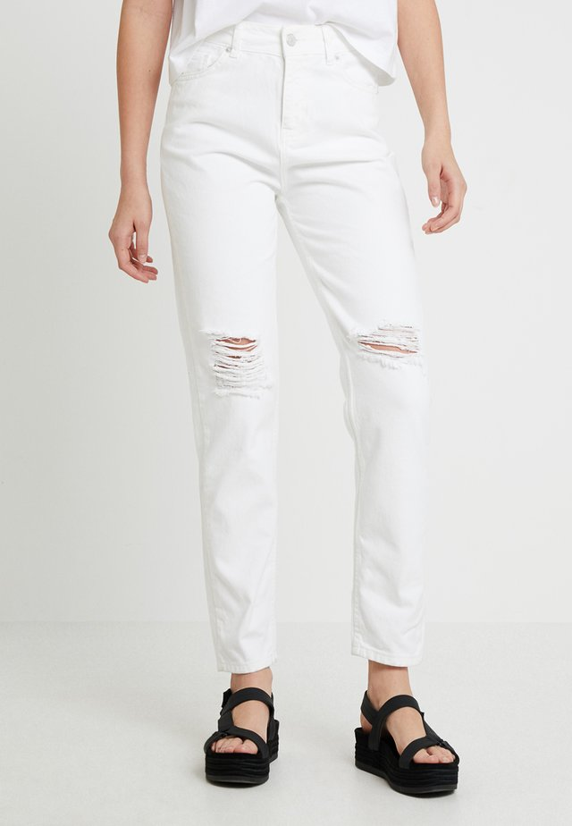 DANA MOM - Jeans relaxed fit - white