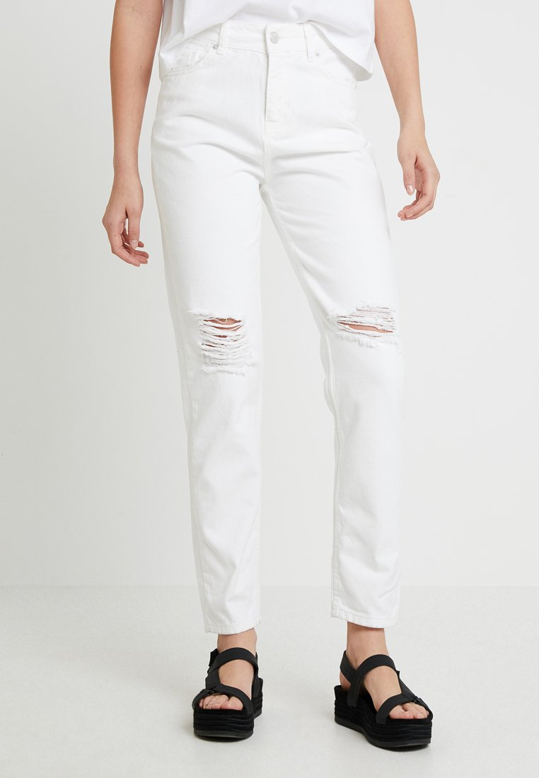 WHY7 - DANA MOM - Jeans Relaxed Fit - white