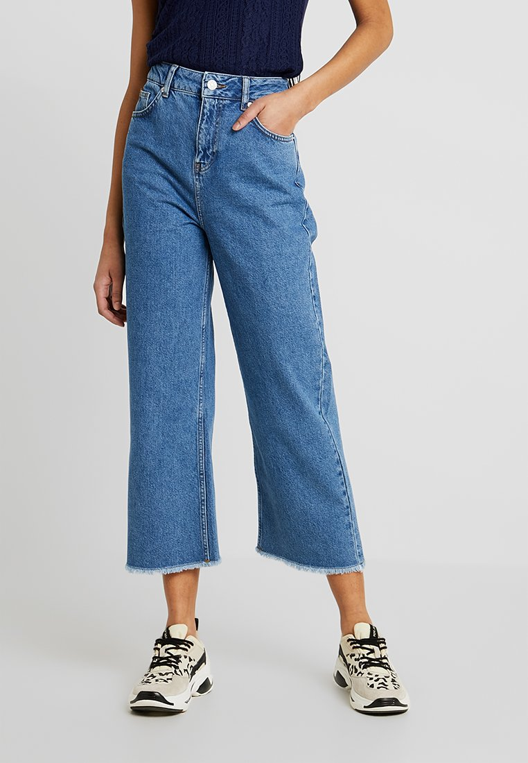 WHY7 - NINA ANCLE - Flared Jeans - mid blue