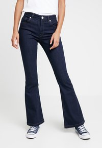 WHY7 - RIKA  - Flared jeans - raw blue - 0