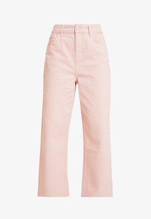 NINA WIDE LEG - Straight leg jeans - lotus