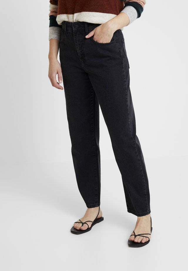 CRISTI CARROT - Jeans relaxed fit - black